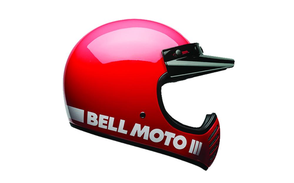 BELL Moto-3 Helmet Red