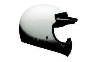 Bell Moto-3 White Classic