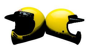 Bell Moto-3 Yellow Classic