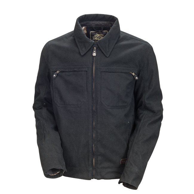 RSD Roland Sands Design Cassidy Textile Jacket Black