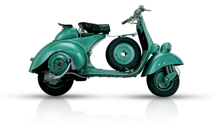 VESPA 125 SIX DAYS 1951