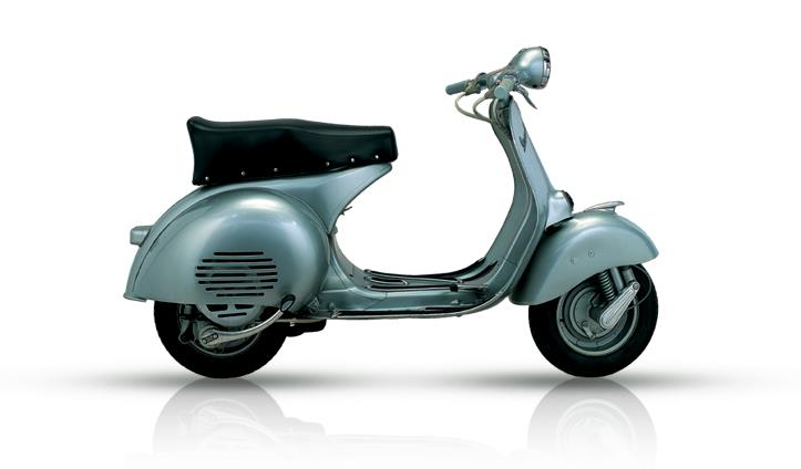 vespa from 1951 to 1960 vespa celebrates 70 years. Black Bedroom Furniture Sets. Home Design Ideas