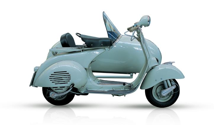 VESPA 150 SIDE-CAR 1955
