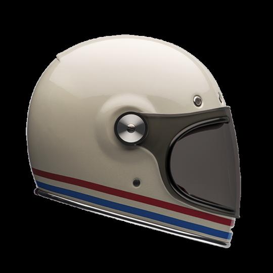 BELL Bullitt Helmet White Pearl Stripes