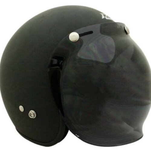 SCORPION 3 STUD BUBBLE VISOR DARK TINT