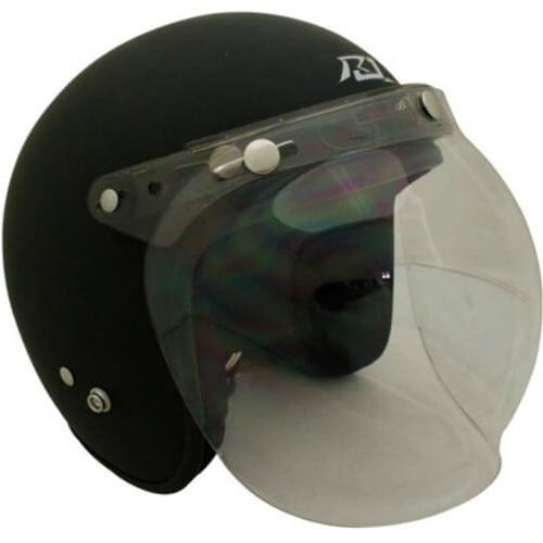 SCORPION FLIP UP 3 STUD UNIV BUBBLE VISOR - CLEAR