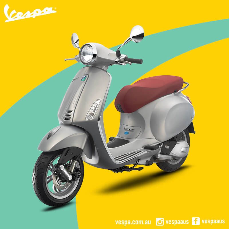 Vespa Primavera And Sprint Now With Abs Scooter Style