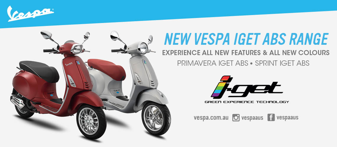 VESPA PRIMAVERA AND SPRINT NOW WITH ABS