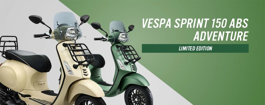 Vespa Sprint 150 ADVENTURE ABS Blog