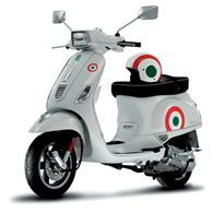 605138M003 Decal Kit Vespa Italian