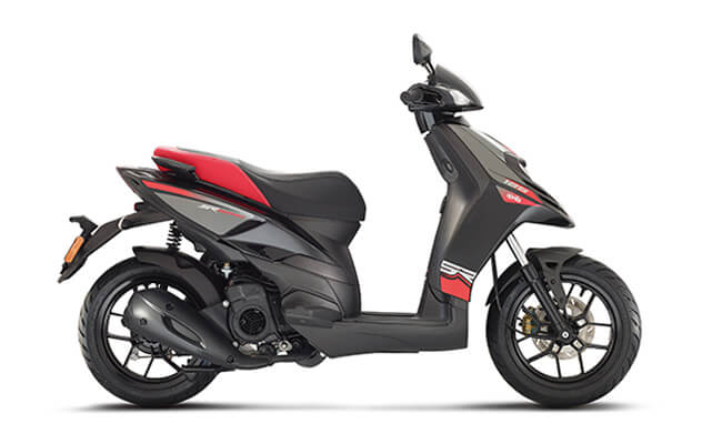 Aprilia Super Motard 125 Black