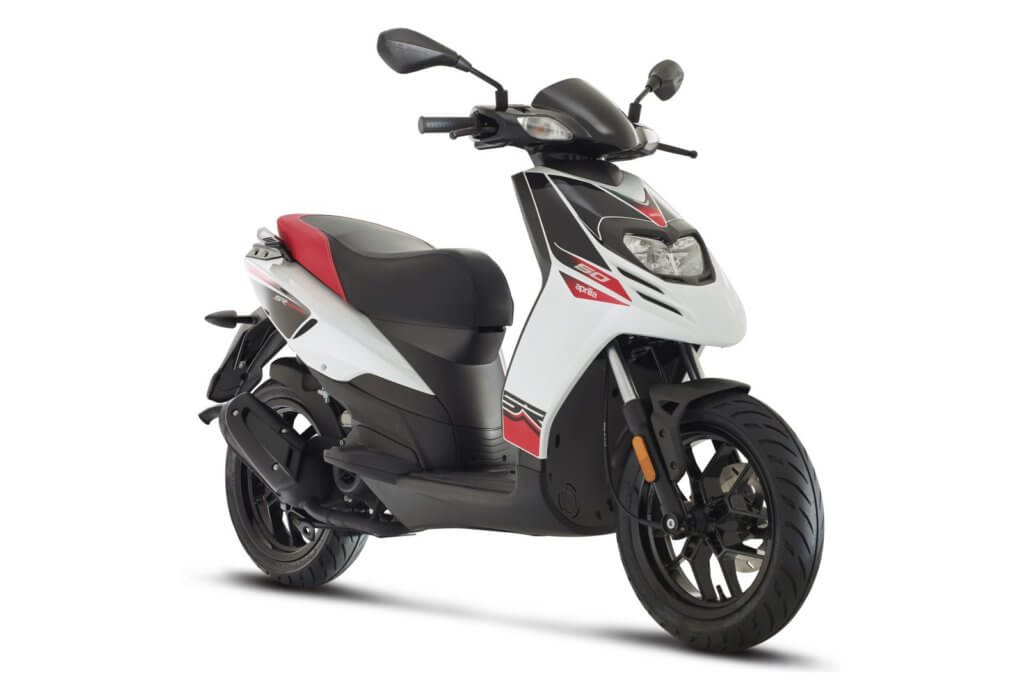 Aprilia Super Motard 50 White