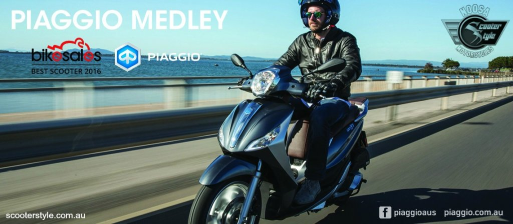 Piaggio Medley - Bikesales Scooter Of The Year!