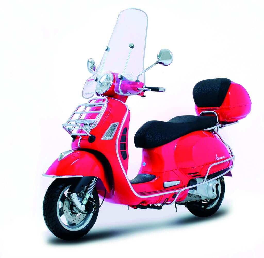 vespa gts complete chrome protection bar kit scooter style. Black Bedroom Furniture Sets. Home Design Ideas