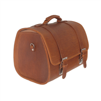 Vespa Genuine Brown Leather Bag