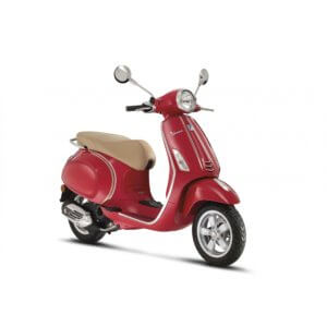 Vespa Primavera Elegance Decal Kit Silver & Gold
