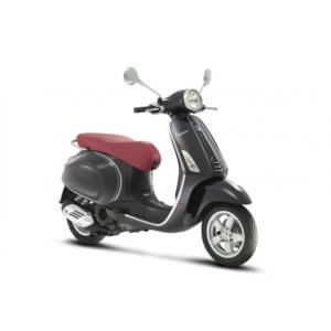 Vespa Primavera Elegance Decal Kit Silver & Dark Grey