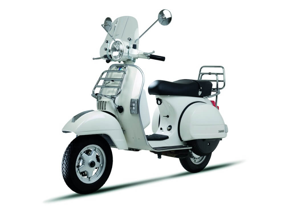 vespa px chromed front rack scooter style noosa. Black Bedroom Furniture Sets. Home Design Ideas