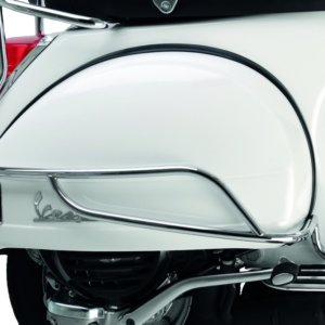 Vespa PX Chromed Side Frame Protection