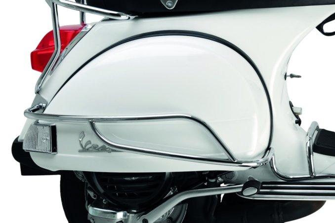Vespa PX Chromed Side Frame Protection