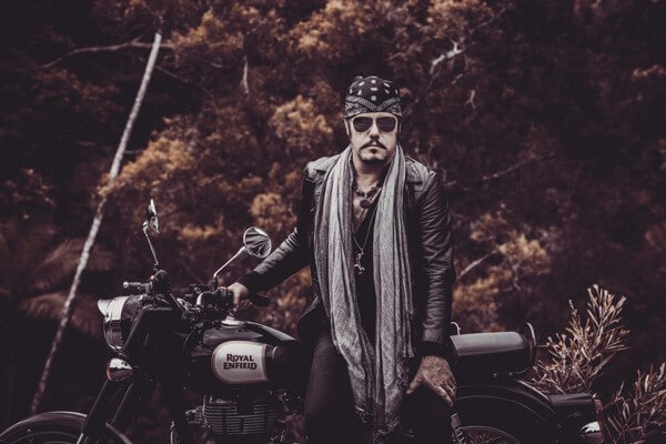 New Royal Enfield Australia Brand Ambassador - Jeff Martin, The Tea Party