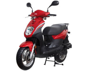 SYM Orbit II 125 Red