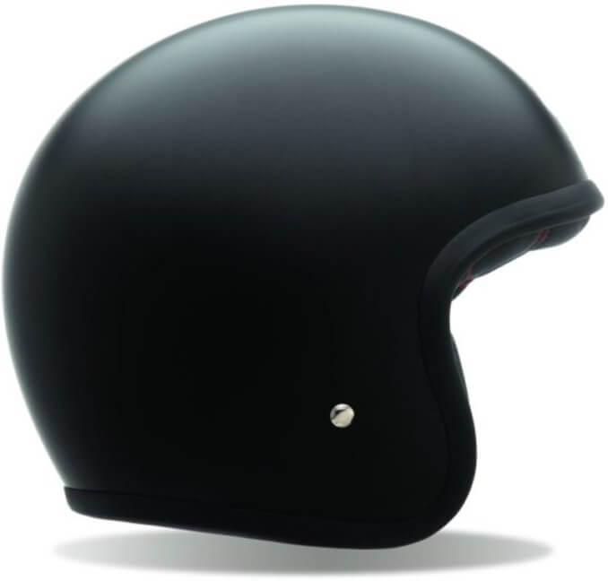 BELL Custom 500 Helmet Matte Black No Studs
