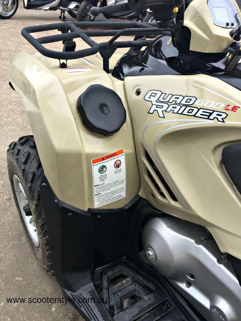 Used SYM Quadraider 600 LE Dual Seat