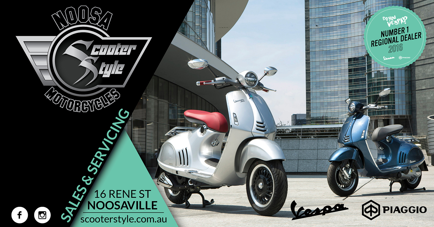 2016 Number 1 Regional Dealer for Piaggio Vespa in Australia