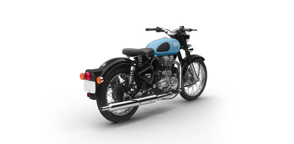 RE Classic 350 Redditch Blue