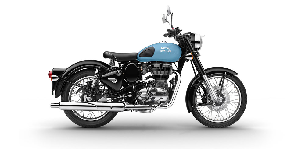 Royal Enfield Classic 350 Redditch Edition Blue