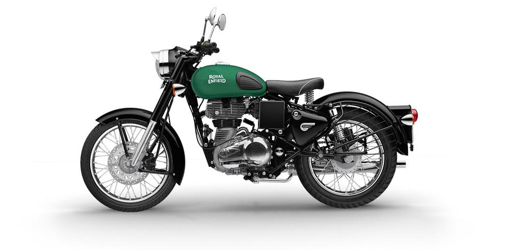 RE Classic 350 Redditch Green