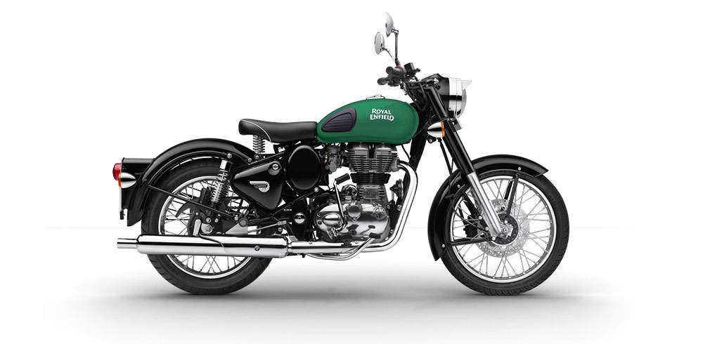 Royal Enfield Classic 350 Redditch Edition Green