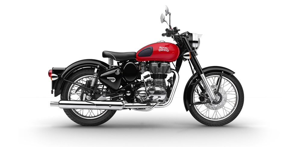 Royal Enfield Classic 350 Redditch Edition Red