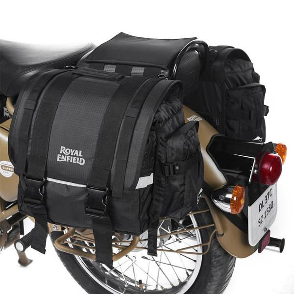 Royal Enfield Nylon Throwover Saddle Bag