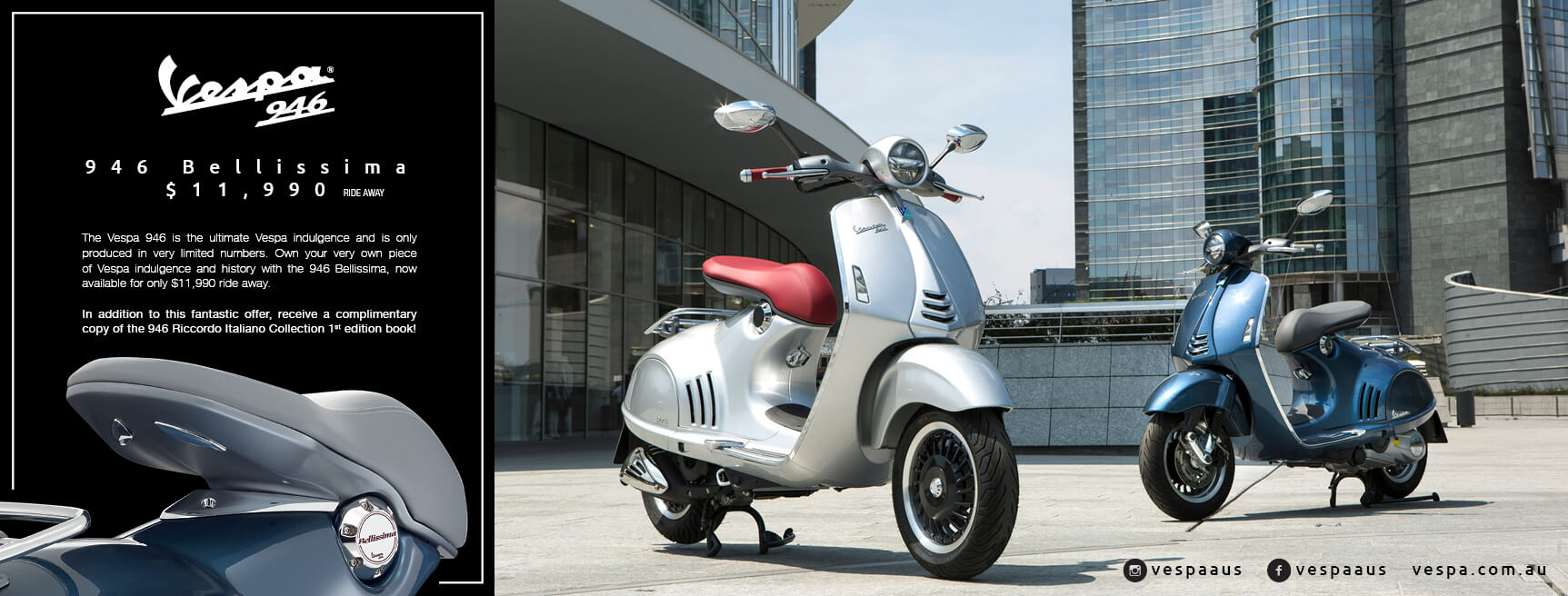 Indulge with the Vespa 946 Bellissima