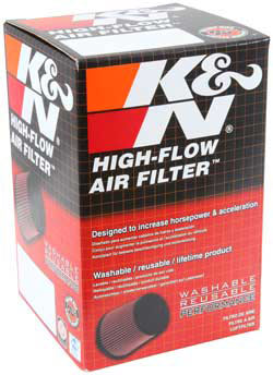 Air Filter K&N RC-0410 Universal Clamp-On
