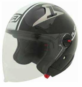 RJays Navona II Helmet Gloss Black White