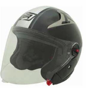 RJays Navona II Helmet Matt Black Grey
