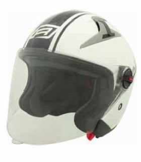 RJays Navona II Helmet Gloss White Black