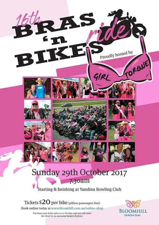 Bras N Bikes Charity Ride 2017
