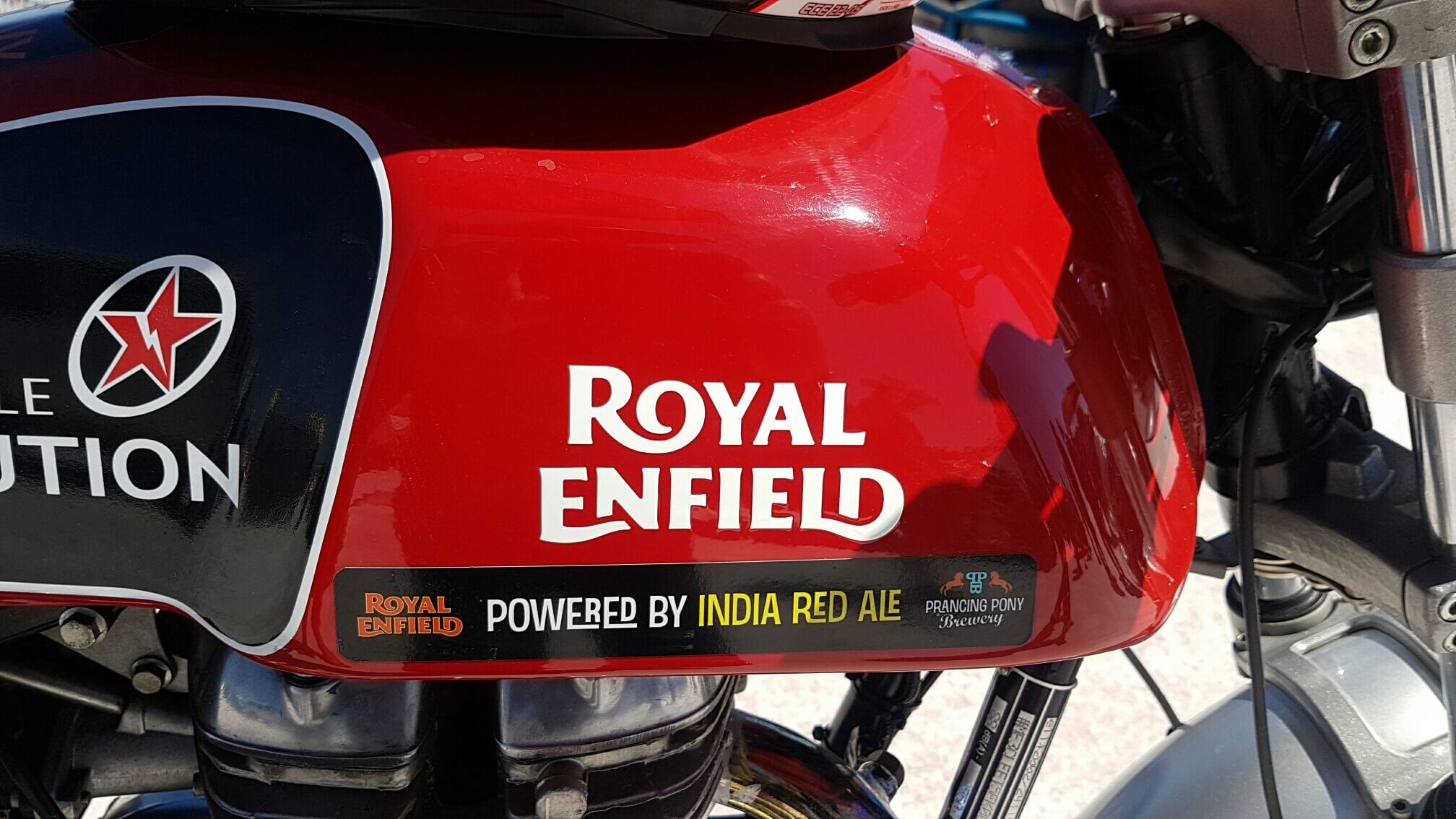 Royal Enfield Continental GT breaks record