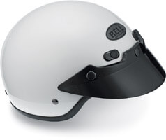 BELL Shorty Helmet White