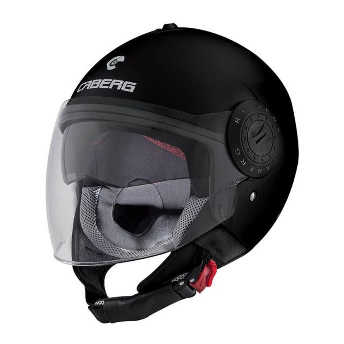 CABERG Riviera V3 Matt Black Helmet