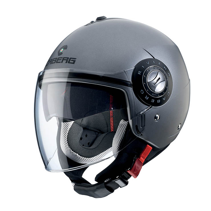 CABERG Riviera V3 Matt Gun Metal Helmet