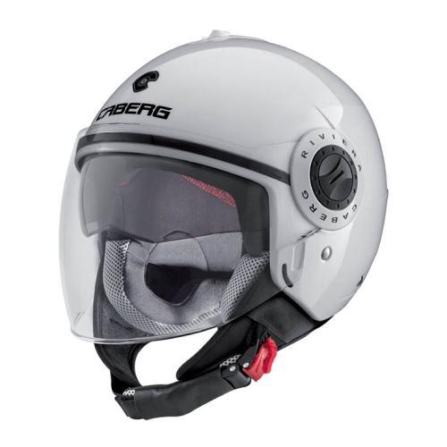 CABERG Riviera V3 White Helmet