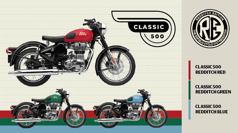 Royal Enfield Classic 500 Redditch Limited Edition