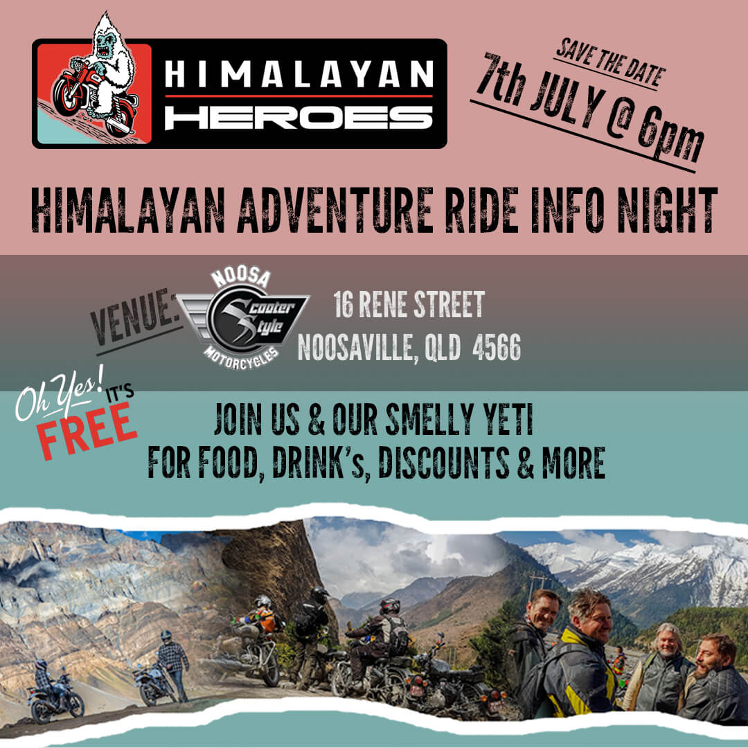 Himalayan Heroes Info Night July 2017