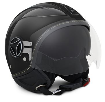 MOMO Avio Carbon Gloss Black Helmet