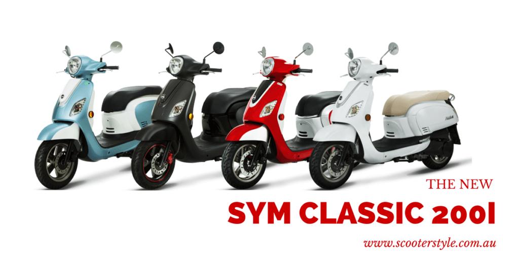 SYM Classic 200i Header